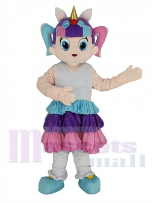 LOL Puppe Einhorn maskottchen kostüm