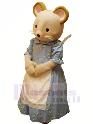 Tugendhaft Maus im Kleid Maskottchen Kostüme Karikatur