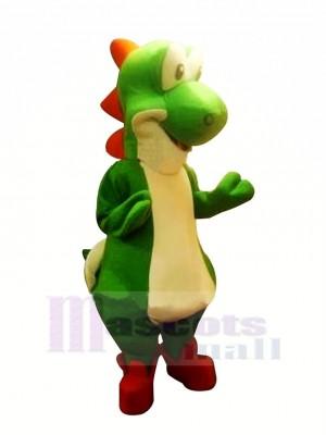 Mario Yoshi Dinosaurier Maskottchen Kostüme Karikatur