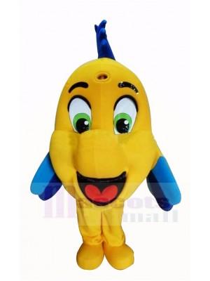 Süß Gelb Anemonenfisch Maskottchen Kostüm Karikatur