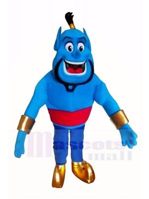Blau Elf Genie Maskottchen Kostüm Karikatur