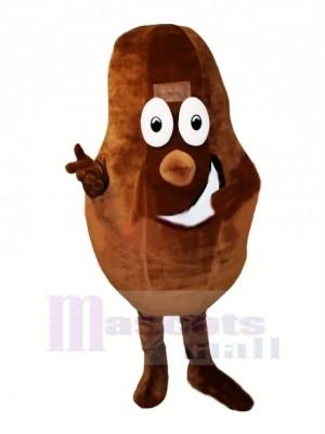 Kakao Bohne Maskottchen Kostüm Karikatur