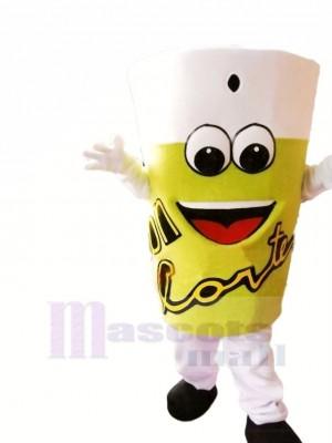 Limonade Maskottchen Kostüm Karikatur