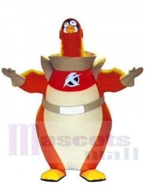 Astronaut Pinguin maskottchen kostüm