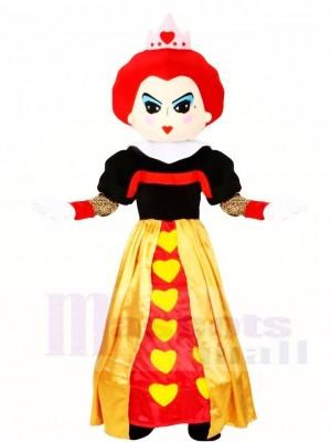 Alice im Wunderland rote Königin Halloween Maskottchen Kostüme