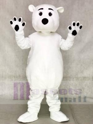 Weiß Polar Bär Maskottchen Kostüme Tier