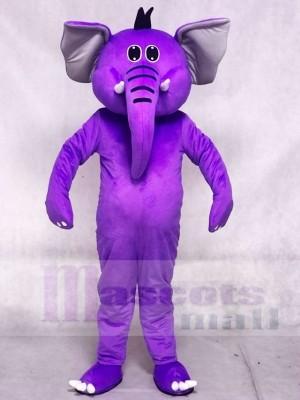 Lila Elefant Maskottchen Kostüme Tier