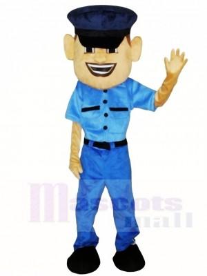 Polizei Mann Cop Maskottchen Kostüme Menschen