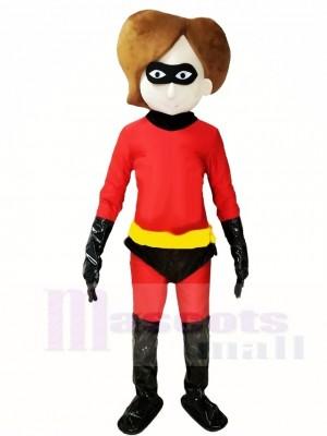 Super Frau Maskottchen Kostüme Menschen