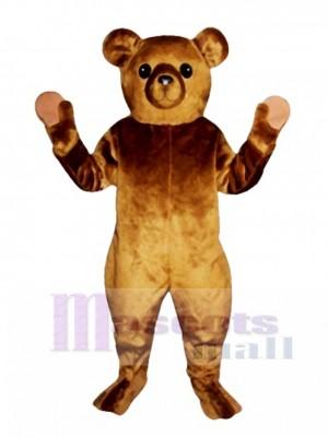 Altmodisches Teddybär Weihnachten Maskottchen Kostüm