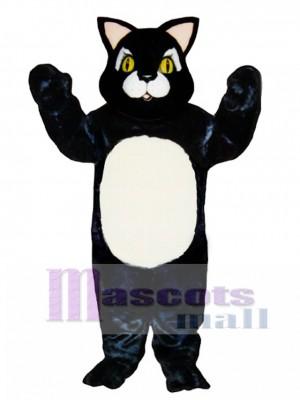 Netter Blackie Katzen Maskottchen Kostüm Tier