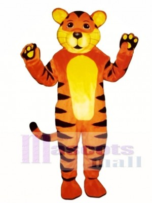 Niedliches Tiger Cub Maskottchen Kostüm