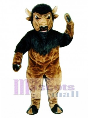 Bison Maskottchen Kostüm
