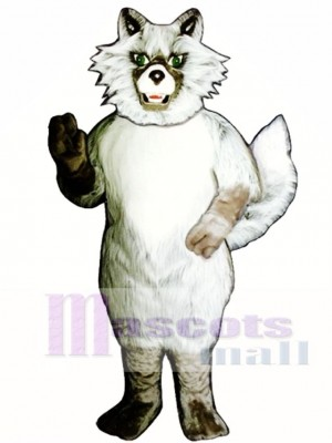 Netter Wild Coyote Wolf Maskottchen Kostüm