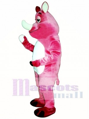 Rhoda Nashorn Maskottchen Kostüm
