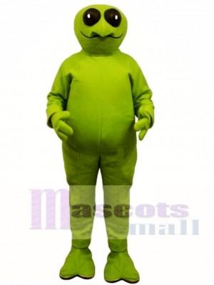 Grün Ausländer Maskottchen Kostüm
