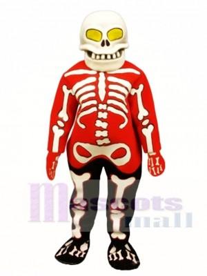 Blutig Knochen Maskottchen Kostüm