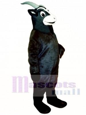 Schwarzes Ziegen Maskottchen Kostüm