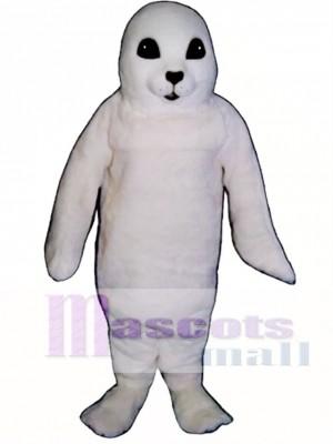 Niedliches weißes Baby Seal Maskottchen Kostüm
