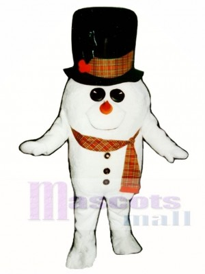 Madcap Schneemann mit Schal Maskottchen Kostüm