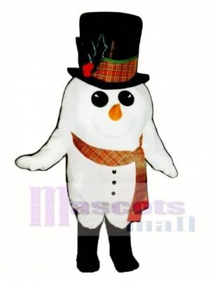 Madcap Schneemann mit Boots & Schal Maskottchen Kostüm