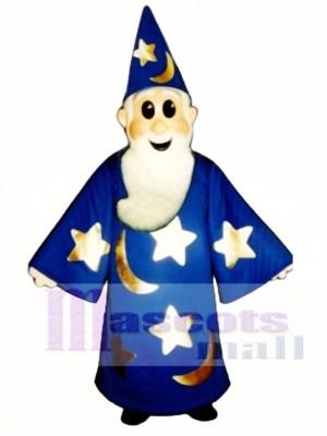 Magier Maskottchen Kostüm