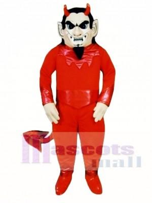 Teufel Maskottchen Kostüm