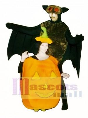 Fledermaus Maskottchen Kostüm