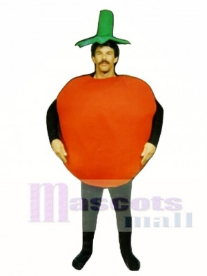 Tomaten Maskottchen Kostüm Gemüse