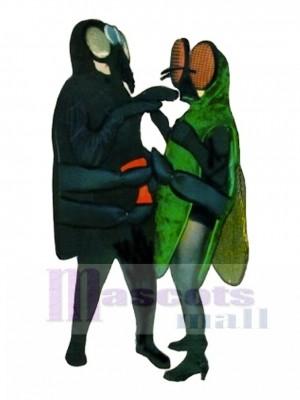 Spinne (auf der Linken ) Maskottchen Kostüm