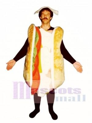 Sub Sandwich Maskottchen Kostüm