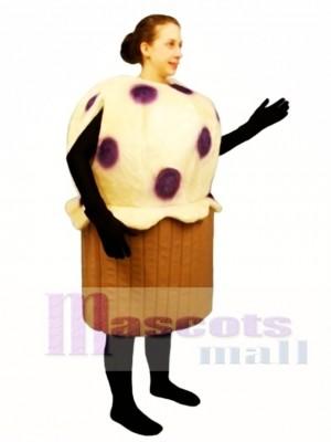 Blaubeere Muffins Maskottchen Kostüm