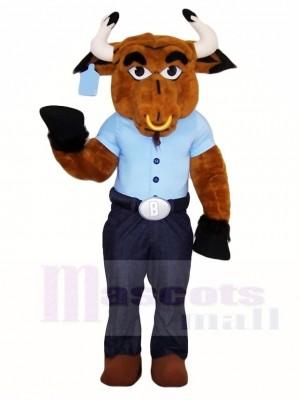 Braun Bull Maskottchen Kostüme Bauernhof Tier
