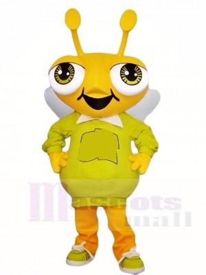 Gelb Fehler Maskottchen Kostüme Insekt