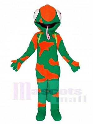 Chamäleon Eidechse Maskottchen Kostüme