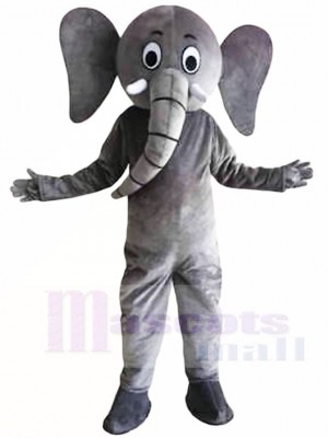 Graues Elefant Maskottchen Kostüme Tier
