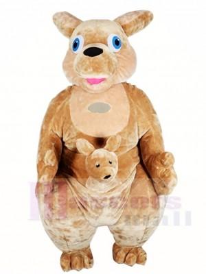 Känguru Maskottchen Kostüme Tier