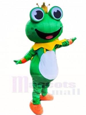 Frosch Prinz Maskottchen Kostüm Tier