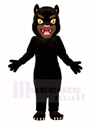 Schwarz Panther Maskottchen Kostüme Tier