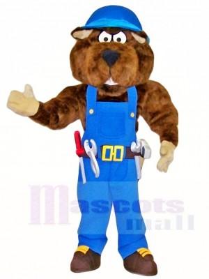 Gopher Bauarbeiter Maskottchen Kostüme Tier