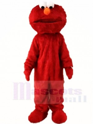 Super Sesame Street Red Elmo Monster Mascot Costumes Cartoon