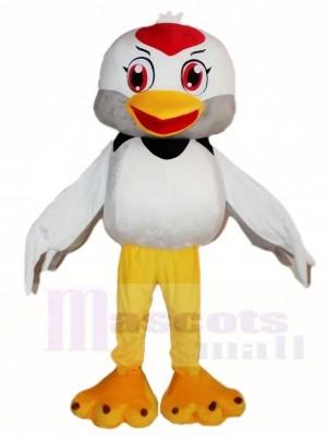 Weißer Vogel Maskottchen Kostüme Tier