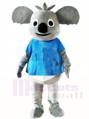 Blaues Shirt Koala Bär Maskottchen Kostüme Tier