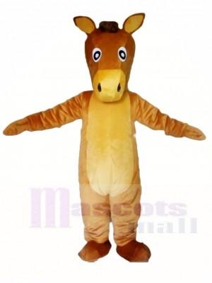 Braun Pferd Maskottchen Kostüme Tier