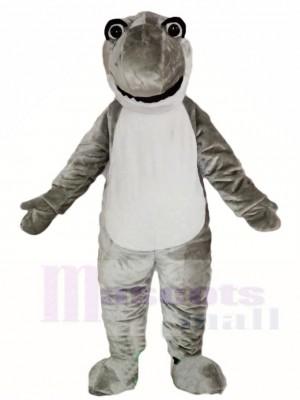 Nettes graues Hai Maskottchen Kostüme Meer Ozean