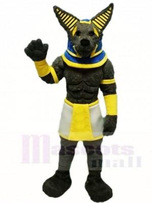Grau Wolf Maskottchen Kostüme Tier