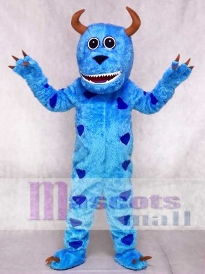 Cartoon Sulley Monster Inc Maskottchen Adult Kostüme