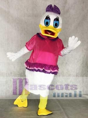 Blaue Augen Daisy Duck Maskottchen Kostüm für Erwachsene Cartoon Anime