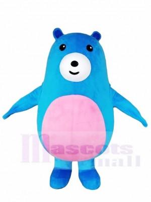 Rosa Bauch Blauer bär Maskottchen Kostüme Tier
