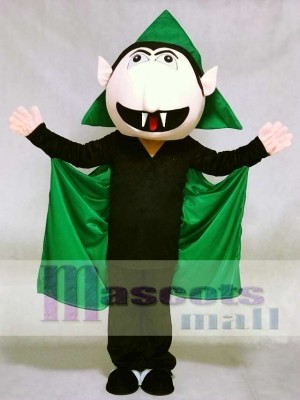 Sesame Street the Count Von Count Vampire Mascot Costume